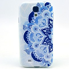 billige Galaxy S4 Mini Etuier-Etui Til Samsung Galaxy Samsung Galaxy etui Mønster Bagcover Mandala-mønster TPU for S4 Mini
