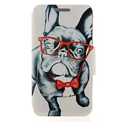 Недорогие Чехлы и кейсы для Galaxy Note 5-Кейс для Назначение SSamsung Galaxy Samsung Galaxy Note Бумажник для карт / со стендом / Флип Чехол С собакой Кожа PU для Note 5 Edge / Note 5 / Note 4