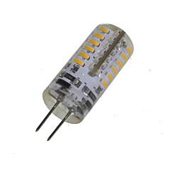 economico Lampadine LED-2W 150-200 lm G4 LED a pannocchia T 48 leds SMD 3014 Decorativo Bianco caldo AC 12V DC 12V