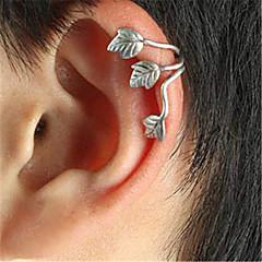 preiswerte Ohrringe-Klips / Ohrring - Blattform Retro, Party, Büro Silber / Kamel Für Party
