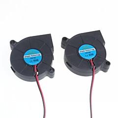 5cm blower / luchtbevochtiger centrifugaalventilator (2 stuks)