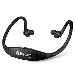 bs19 trådlösa Bluetooth-öronsporthuvudtelefonhörlurar (svart)