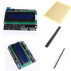 お買い得  マザーボード-1602 LCDキーパッドシールドとArduinoのためのアクセサリー