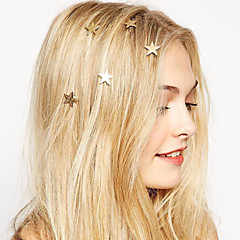cheap Hair Jewelry-Women's Bohemian / Fashion / Sweet Alloy Hair Clip - Solid Colored