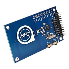 abordables Sensores-un 13,56 MHz para pn532 Arduino compatible con la tarjeta de pastel de frambuesa tarjeta NFC módulo lector
