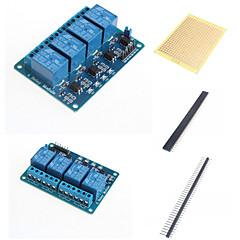 4 tapoja rele moduuli optocoupler ja tarvikkeet