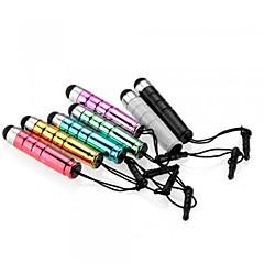 abordables Gadgets para Samsung-kinston® 7 x bala capacitiva retráctil lápiz táctil con el enchufe del auricular del anti-oscuridad para iPhone / iPad / Samsung y otros