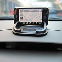 baratos -interior do carro com o telefone móvel estilo do carro esteira