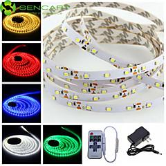 preiswerte LED Lichtstreifen-SENCART 5m Flexible LED-Leuchtstreifen 300 LEDs Warmes Weiß / RGB / Weiß Schneidbar / Abblendbar / Verbindbar 100-240V / 12V / 3528 SMD