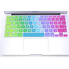 """お買い得  MAC 用キーボード カバー-""""、12"""" 11のためのカラフルなシリコンキーボード保護カバースキンをcoosbo®、13 """"、15""""、17 """"のMacBookの空気プロ網膜"""