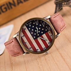 preiswerte Damenuhren-Damen Quartz Armbanduhr Armbanduhren für den Alltag PU Band Charme / Modisch Schwarz