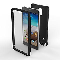 Mert Samsung Galaxy Note Ütésálló / Porálló Case Hátlap Case Páncél PC Samsung Note 4