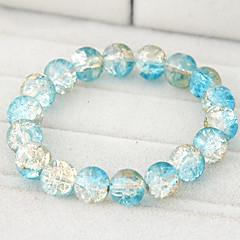 Dames Strand Armbanden Glas Zwart Paars Blauw Roze Licht Roze Sieraden Voor Dagelijks Causaal 1 stuks