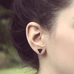 olcso Fülbevalók-Női Beszúrós fülbevalók minimalista stílusú Réz Trokuti Geometric Shape Ékszerek Esküvő Parti Napi Hétköznapi Jelmez ékszerek