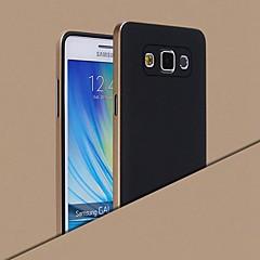 olcso Galaxy A7 tokok-Case Kompatibilitás Samsung Galaxy Samsung Galaxy tok Galvanizálás Hátlap Tömör szín Szilikon mert A8 A7 A5 A3
