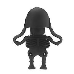kristal menselijk skelet usb 2.0 genoeg memory stick flash pen drive 16gb