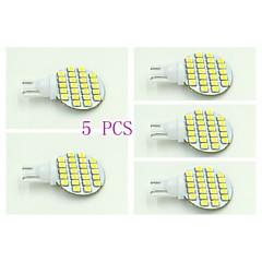 preiswerte LED-Birnen-100-120 lm T10 Instrumententafel-Leuchten 24 Leds SMD 3528 Natürliches Weiß DC 12V