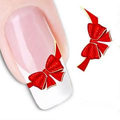 Dedo/Dedo del Pie - Abstracto/Encantador - Calcomanías de Uñas 3D - Otros - 1 - 10.5X7X0.1 - (cm)