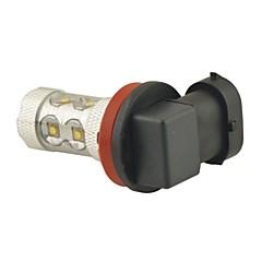 Недорогие Автомобильные фары-SO.K H8 H11 Автомобиль Лампы 50 W SMD LED 2800 lm 10 Противотуманные фары