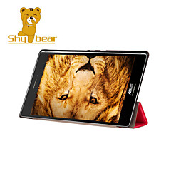 Shy Bear™ Leather Cover Stand Case for Asus Zenpad S 8.0 Z580 Z580C Z580CA Tablet
