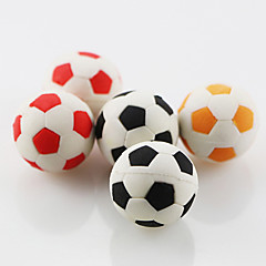 Cute Football Soccer Assemble Rubber Eraser (Random Color) For School / Office