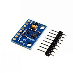 お買い得  センサー-mma8452q 14ビット三軸デジタル加速度傾斜センサモジュール