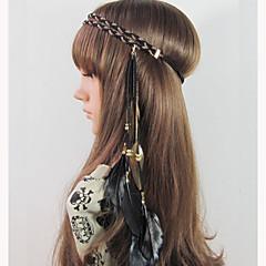 Bruiloft/Feest/Dagelijks/Causaal - Haarbanden (Legering/Veer , Zoals Op De Afbeelding)