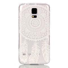 お買い得  Galaxy S6 Edge ケース / カバー-ケース 用途 Samsung Galaxy Samsung Galaxy ケース クリア バックカバー ドリームキャッチャー PC のために S6 edge S6 S5 Mini S5 S4 Mini S3 Mini