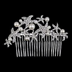 저렴한 -여성 플라워 걸 라인석 투구-웨딩 특별한날 왕관 1개