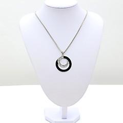preiswerte Halsketten-Damen Kristall Anhängerketten - 18K vergoldet, Strass, Diamantimitate Europäisch, Modisch Modische Halsketten Schmuck Für / Österreichisches Kristall