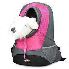 お買い得  犬用品&グルーミング用品-ネコ 犬 キャリーバッグ ペット用 バスケット 携帯用 高通気性 イエロー ローズ レッド グリーン ブルー ペット用