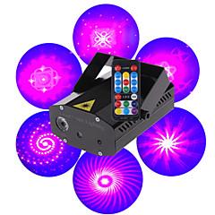 LT mini med fjernbetjening rød grøn blå laser projektor