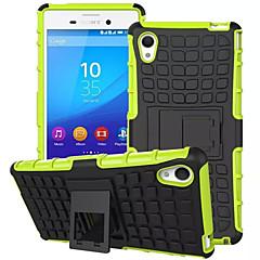 смешивать цвета ТПУ&шт тяжелых доспехов случай подставка для Sony Xperia m4 аква (ассорти цветов)
