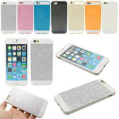 Недорогие Кейсы для iPhone 5-Кейс для Назначение iPhone 5 Apple Кейс для iPhone 5 Защита от удара Кейс на заднюю панель Сияние и блеск Мягкий ТПУ для iPhone SE/5s