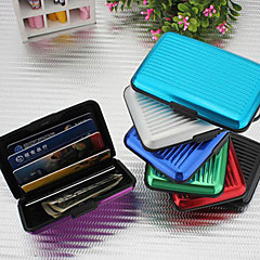 Credit Card Wallet Cash Card Aluminum Case(Random Colors)