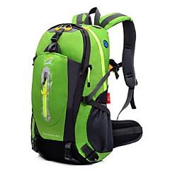 40 L Sırt Çantası Paketleri Yürüyüş Çantaları Bisiklet Sırt Çantası Kamp & Yürüyüş Tırmanma Serbest Sporlar SeyahatSu Geçirmez Çok
