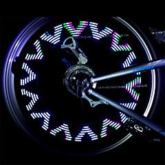 Kerékpár világítás Kerékpár első lámpa Kerékpár hátsó lámpa kerék fények LED - Kerékpározás Vízálló csúszásmentes cellás akkumulátor 500