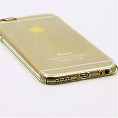Недорогие Кейсы для iPhone-Кейс для Назначение Apple iPhone 7 / iPhone 7 Plus / iPhone 6 Plus Прозрачный Кейс на заднюю панель Однотонный Твердый ПК для iPhone 7 Plus / iPhone 7 / iPhone 6s Plus