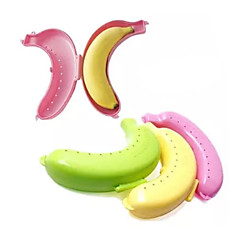 New Fruit Banana Food Protecter Box Holder Storage  (Random Color)