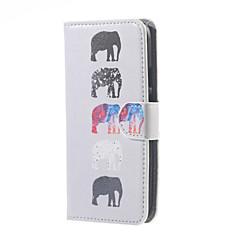 من أجل موتورولا حالة أغط / كفرات محفظة حامل البطاقات مع حامل قلب كامل الجسم غطاء فيل قاسي جلد اصطناعي إلى Motorola
