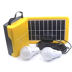 D007 Lantaarns en tentlampen LED 110 Lumens 1 Modus - Oplaadbaar voor Kamperen/wandelen/grotten verkennen Reizen Multifunctioneel