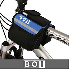 BOI® Cykeltaske 1.9LTaske til cykelstyret Vandtæt / Vandtæt Lynlås / Stødsikker / Påførelig Cykeltaske 600D Ripstop / Klæde Cykeltaske