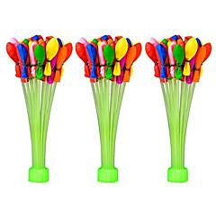 cheap -110 Pcs Water Balloon Kits New Improve Hot Summer With 3 Bunchs Latex Water  Balloons Fight Games, Summer Splash Fun for Kids & Adults