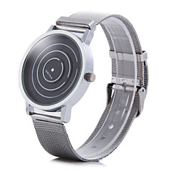 Paidu 58890 Rotational Japan Quartz Watch Steel Net Band Round Dial for Men Wrist Watch Cool Watch Unique Watch