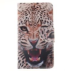Varten Samsung Galaxy Note Lomapkko / Korttikotelo / Tuella / Flip Etui Kokonaan peittävä Etui Eläin Tekonahka Samsung Note 4