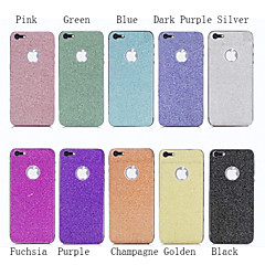 cheap iPhone Skin Stickers-Luxury Colorful Glitter Bling Skin Wrap Sticker Screen Protector for iPhone 5/5S(Assorted Colors)