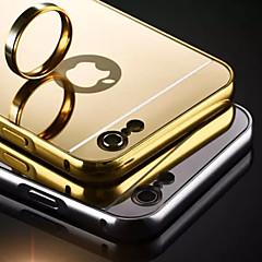 Недорогие Кейсы для iPhone 5-Кейс для Назначение Apple iPhone 7 / iPhone 7 Plus / iPhone 6 Plus Покрытие / Зеркальная поверхность Кейс на заднюю панель Однотонный Твердый Акрил для iPhone SE / 5s
