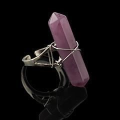 preiswerte Ringe-Damen Bandring - Aleación Modisch Verstellbar Purpur / Grün / Rosa Für Alltag Normal