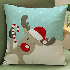 Bawełna / Bielizna / Cotton / Linen Pokrywa Pillow / Poduszka-Nowość / Poszewka na poduszkę ,Kwiatowy / Nowość / Textured / Zwierząt