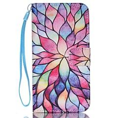 tanie Galaxy S4 Mini Etui / Pokrowce-Kılıf Na Samsung Galaxy Samsung Galaxy Etui Etui na karty Portfel Z podpórką Flip Pełne etui Kwiaty Skóra PU na S8 Plus S8 S7 edge S7 S6